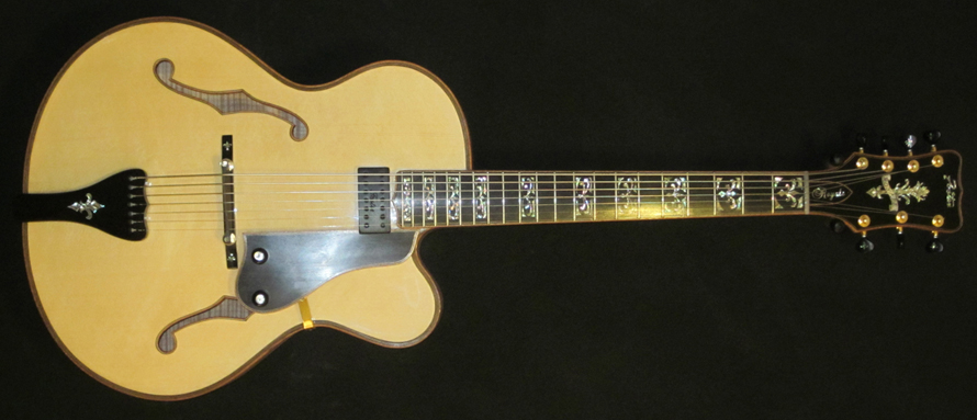 Jimmy's Last Guitar: 7-String Royale Archtop #R4
