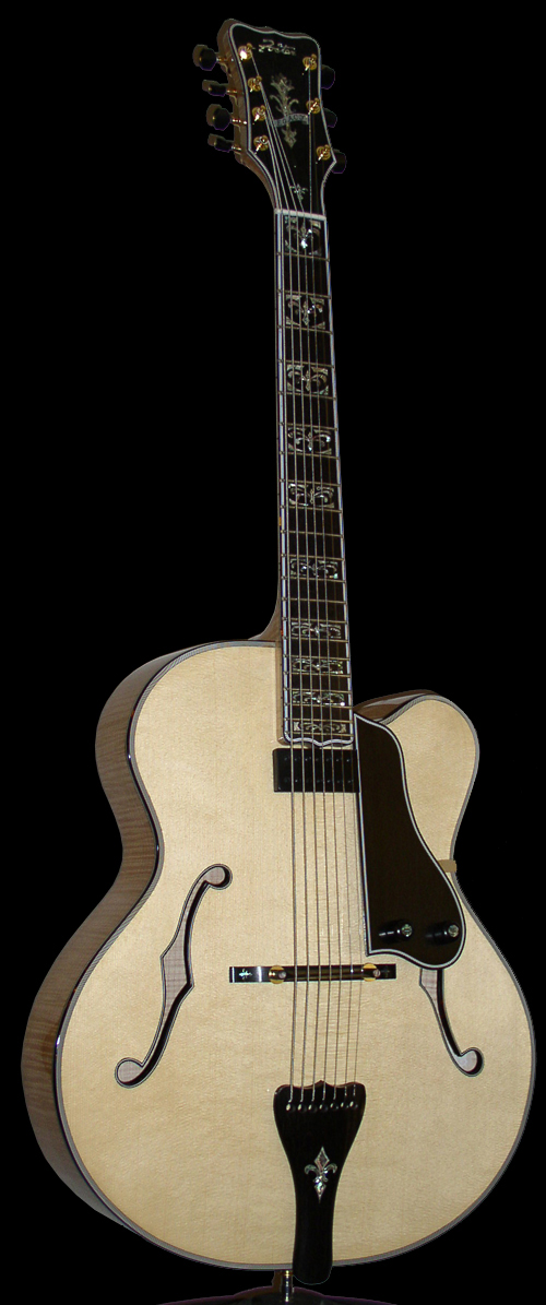 The Legacy Archtop Guitar : 6- & 7-String Archtop Guitars