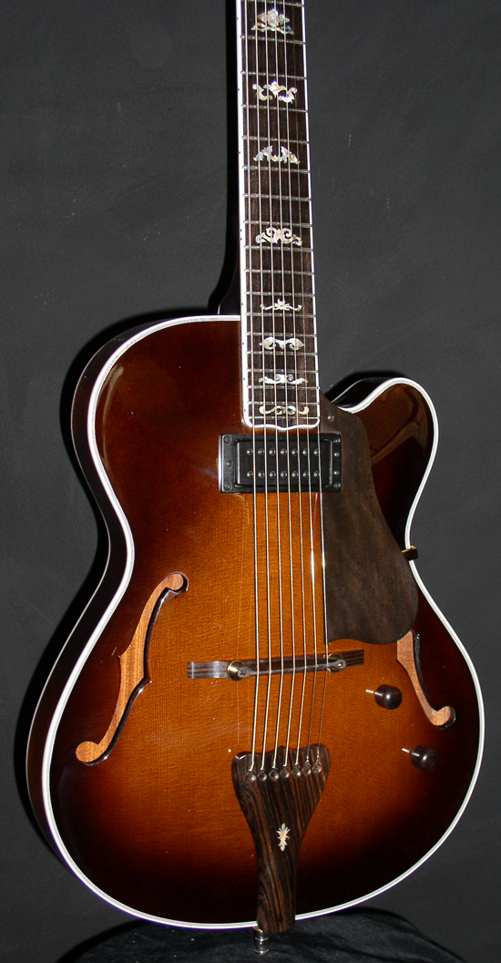 Custom 7-String Baritone Guitar (Model: St. Charles Avenue Archtop Guitar)