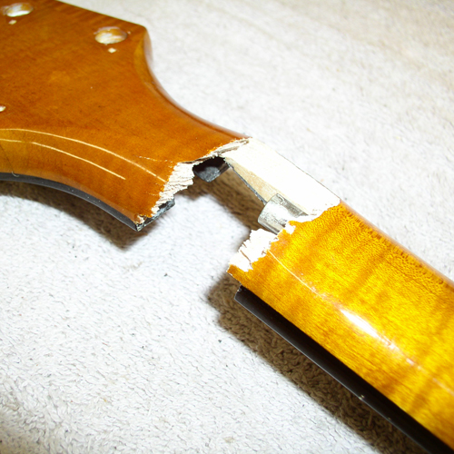 Guitar Neck Repair (Jan-2011)