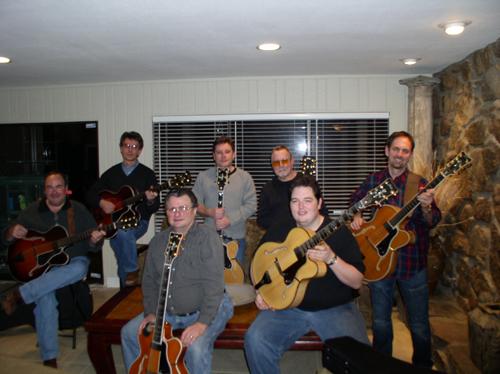 Arkansas Foster Guitar Club: Group Shot
