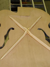 X Bracing from Foster Guitars
