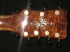 Jimmy Foster Royale 7-String Archtop Guitar #R4 (Headstock - Back)