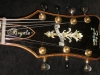 Jimmy Foster Royale 7-String Archtop Guitar #R4 (Headstock - Front)