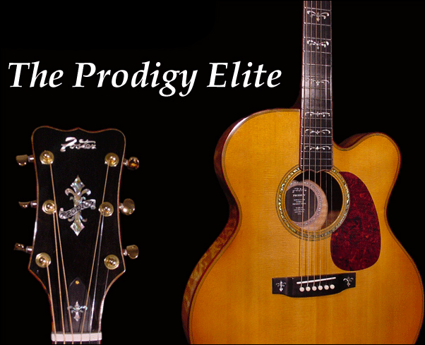The Prodigy Elite Flat Top Acoustic Guitar (Foster Jazz Guitars)