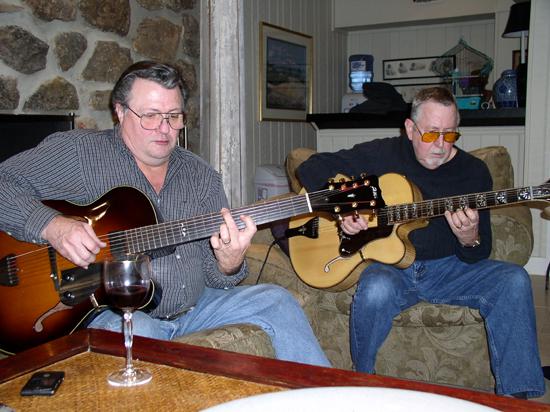 Arkansas Foster Guitar Club: Bill & Jimmy