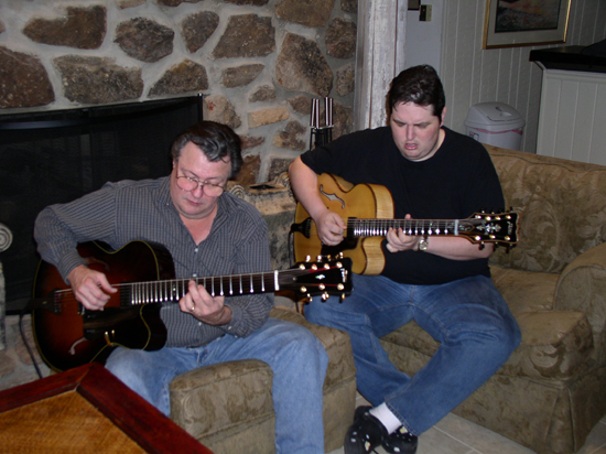 Arkansas Foster Guitar Club: Jimmy & Teddy