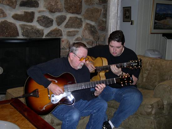 Arkansas Foster Guitar Club: Teddy & Bill