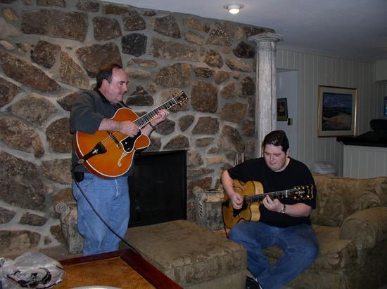 Arkansas Foster Guitar Club: Teddy & Frank
