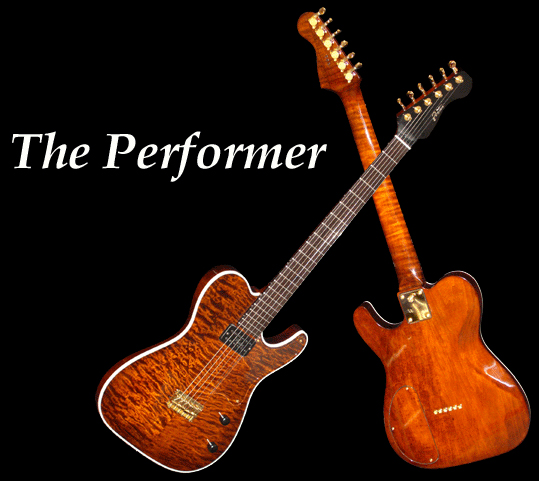 The Performer Solid Body Electric Guitar (Foster Jazz Guitars)
