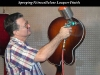 Spraying Nitrocellulose Lacquer Finish - Foster Guitar Shop (New Orleans)