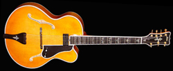 The Fleur de Lis Elite Archtop Guitar